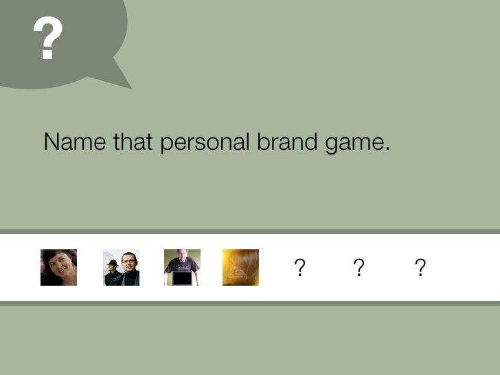Personal Branding (09) Slide 18
