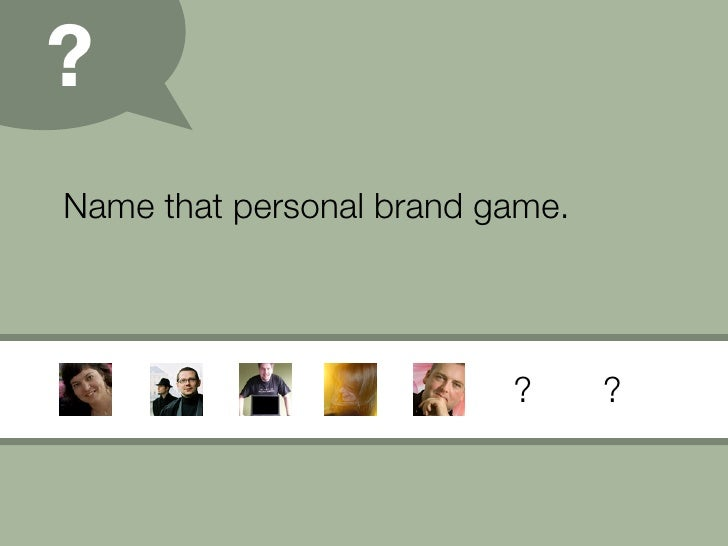 Personal Branding (09) Slide 19