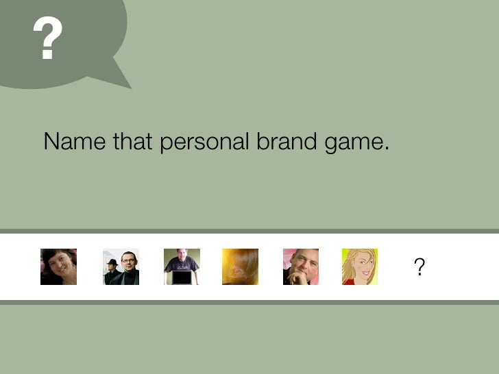 Personal Branding (09) Slide 20