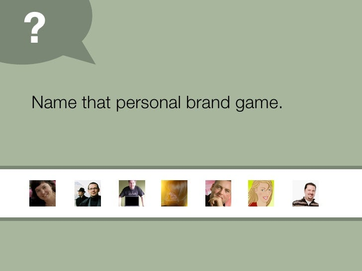 Personal Branding (09) Slide 21