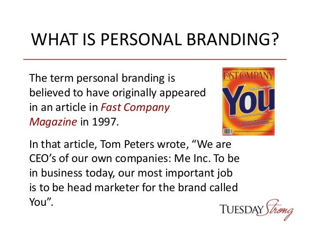 Personal Branding: What Every Professional Should Know About Branding