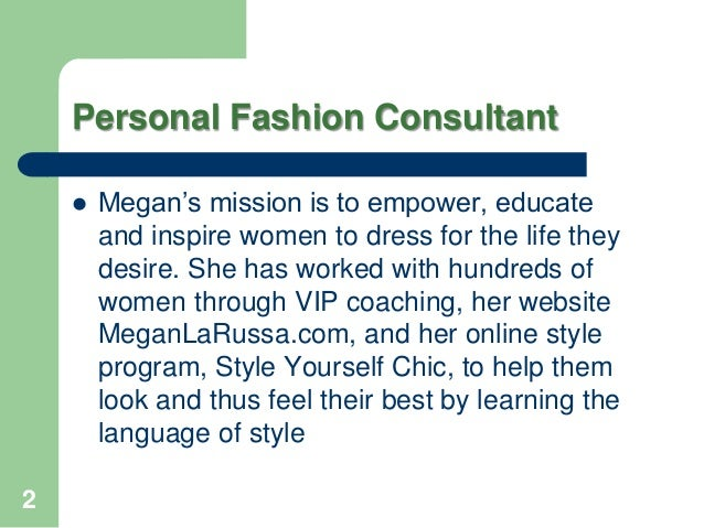 Personal fashion-consultant