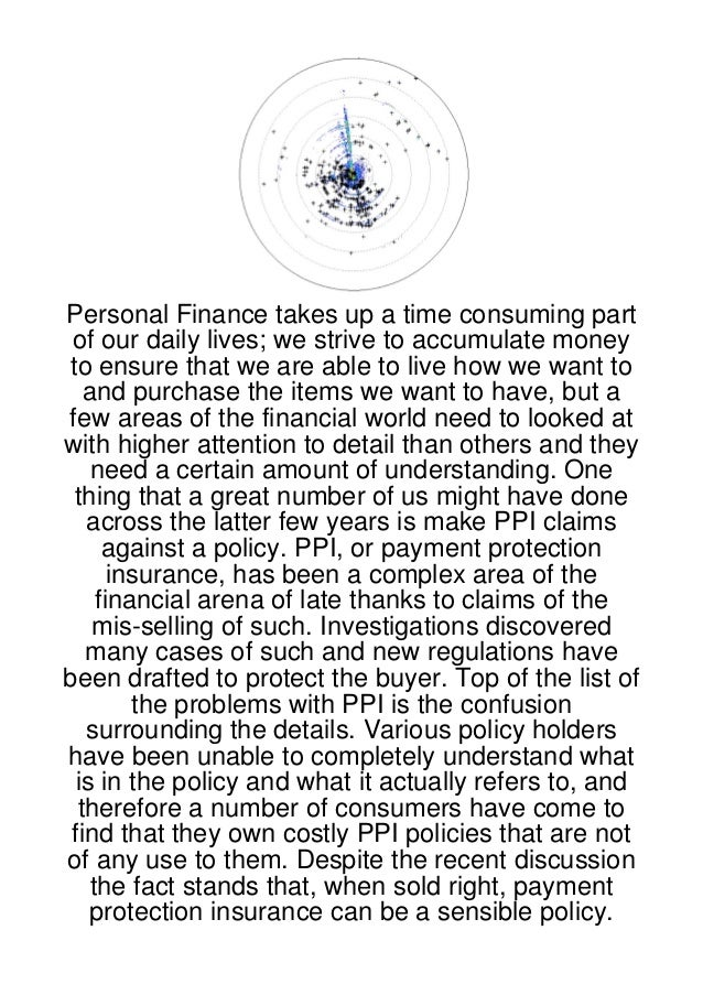 Personal Finance takes up a time consuming part of our daily lives; we strive to accumulate money to ensure that we are ab...