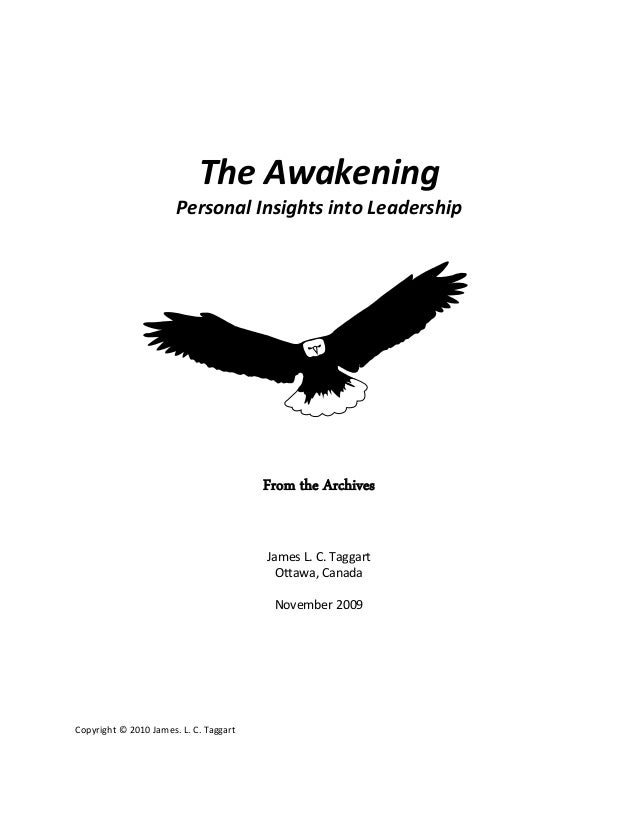 Personal Insight on Leadership Excerpt RGH