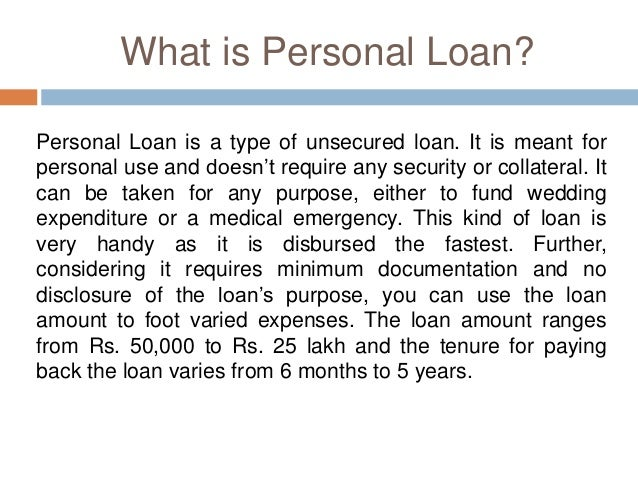 Which Bank Personal Loan Would You Prefer: SBI or HDFC?