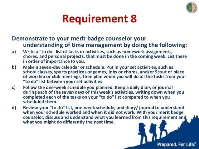 Cooking Merit Badge