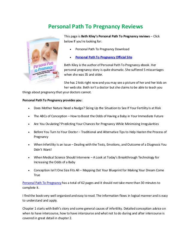Personal path to pregnancy free download personal path to pregnancy reviews this page is beth kileys personal malvernweather Image collections
