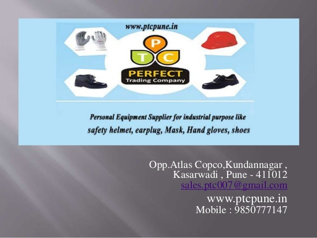 Personal protective equipment safety equipment ptcpune ppt slideshare - 웹