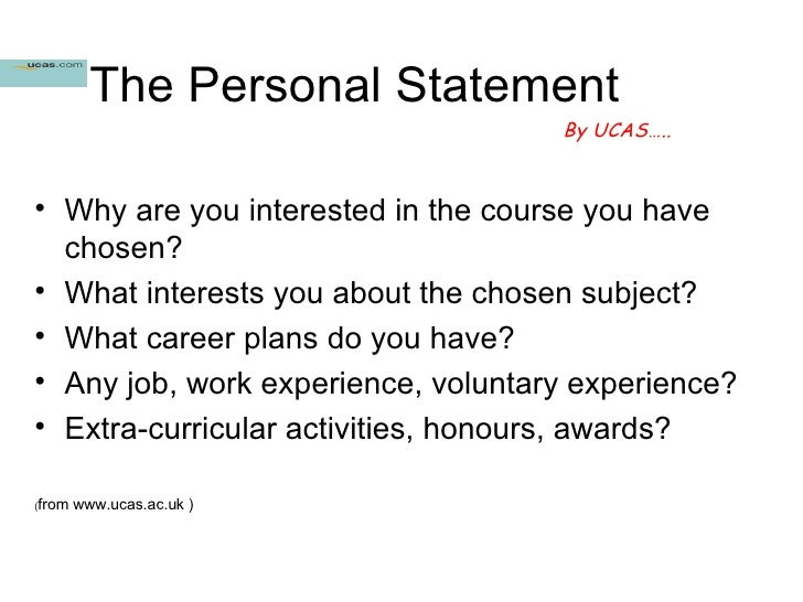 how to write a personal statement for sixth form