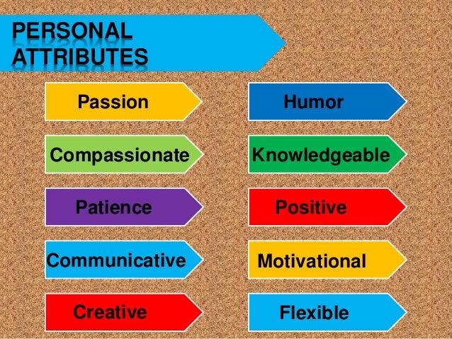 negative attributes