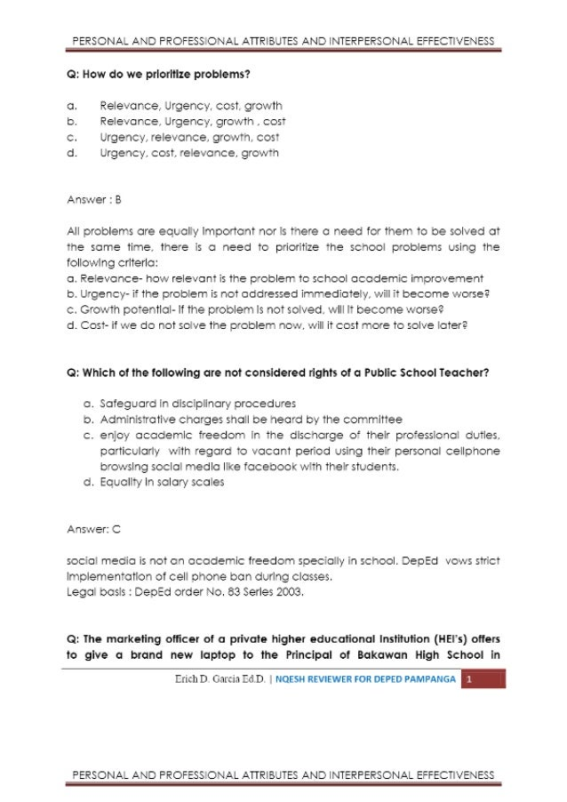 key attributes of a personal essay Could you please review my essay and qualities of a good student today's students what are the good qualities of a student based on my personal.
