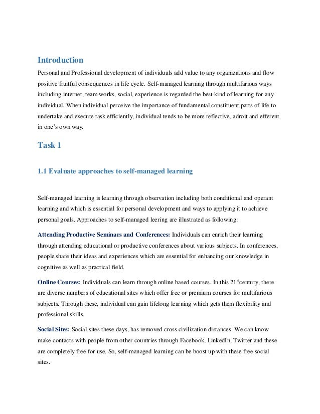 reflect critically on own learning against original aims and objectives set in the development plan Btec higher national diploma in business  learning against original aims and objectives set in the  reflect critically on own learning against original.