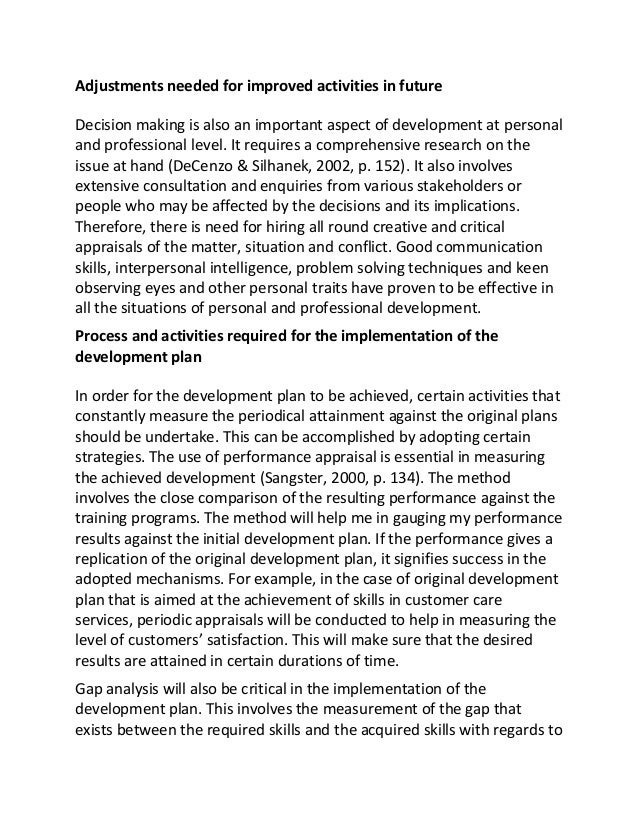learning and development practice essay - reflection within professional development in this essay i intend to reflect  and the way it has informed my practice in developing a positive learning.