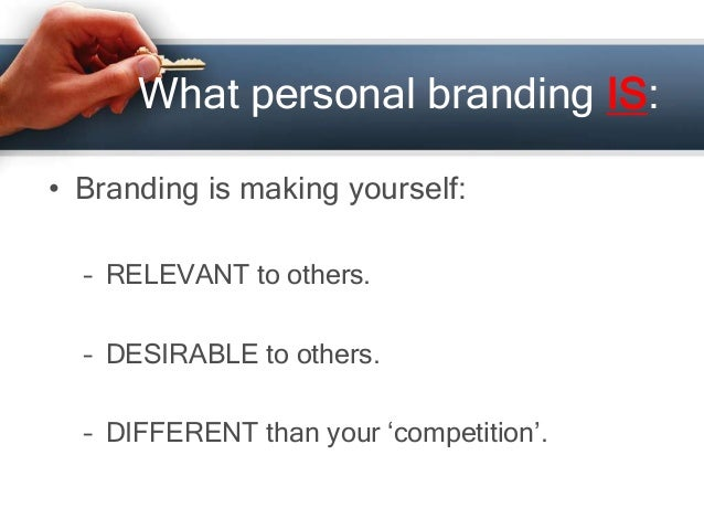 Personal Branding In A Job Search By Greg David Of Gregory