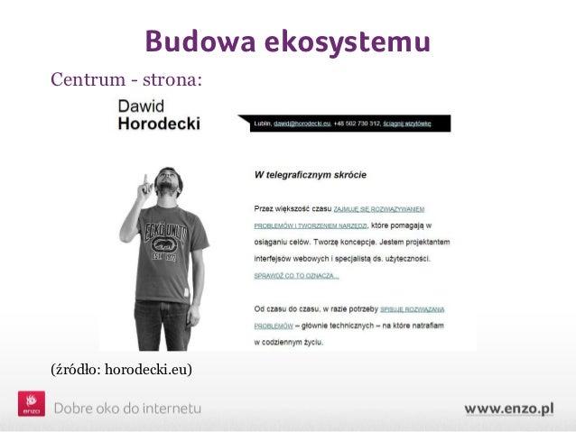 Budowa ekosystemuCentrum - strona:(źródło: horodecki.eu)