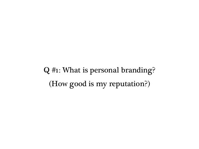 (1/15) Personal Branding - Set Up Slide 3