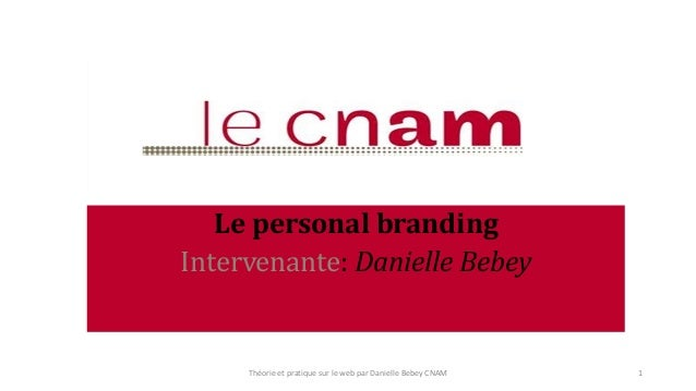 Introduction au personal branding   Slide 1