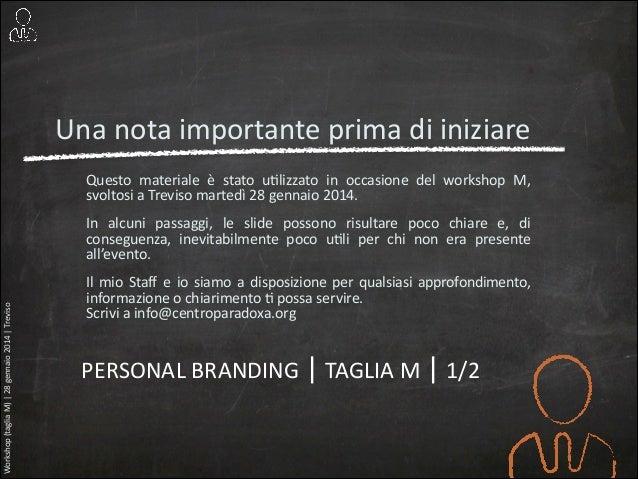 Personal branding | 01 (taglia m) Slide 2