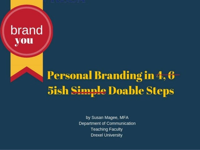 Personal Branding in 5 Doable Steps