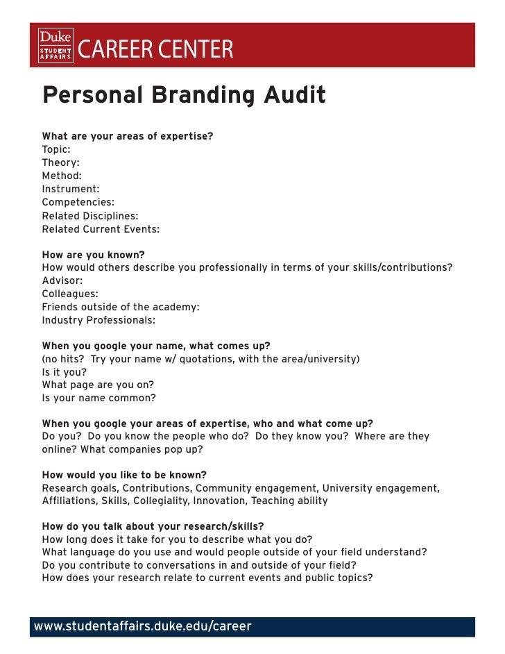 personal branding audit. Black Bedroom Furniture Sets. Home Design Ideas