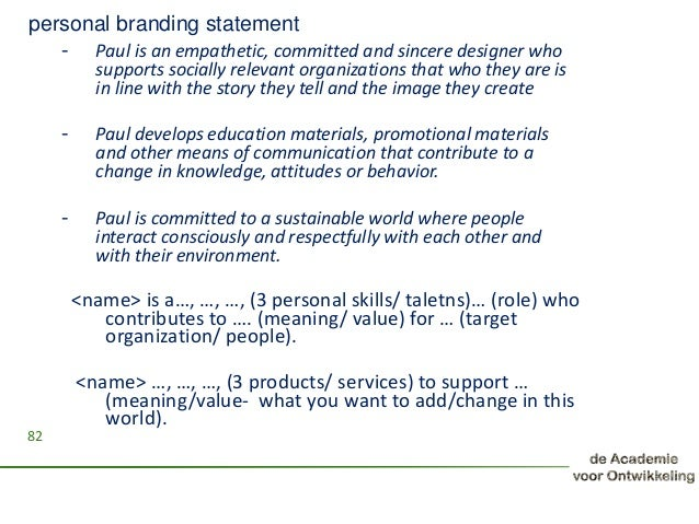 personal branding statement generator Find and save ideas about personal brand statement on pinterest | see more ideas about vision statement, mission vision and business mission statement.