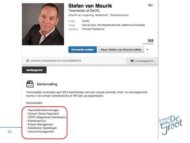 personal branding cv voorbeeld Personal branding   CV van de Toekomst   Linkedin