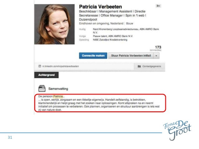 Personal branding   CV van de Toekomst   Linkedin