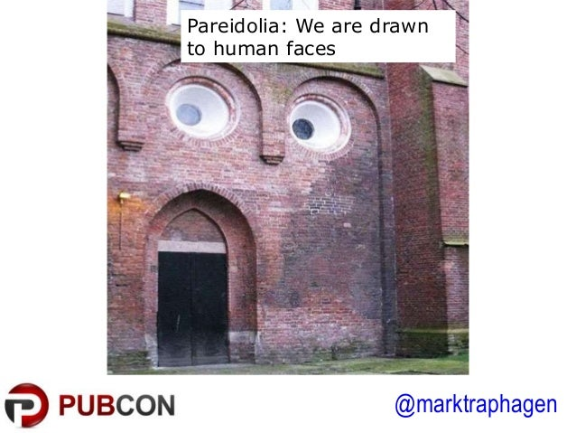 @marktraphagen Pareidolia: We are drawn to human faces