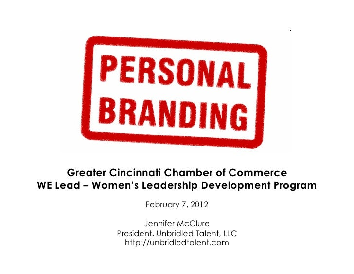Personal Branding for Career Growth - Feb 2012