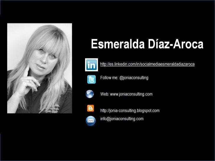 12 consejos para optimizar tu perfil de #LinkedIn: por Esmeralda Díaz-Aroca Slide 3