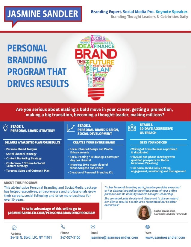 Executive Fast Track Personal Branding Program