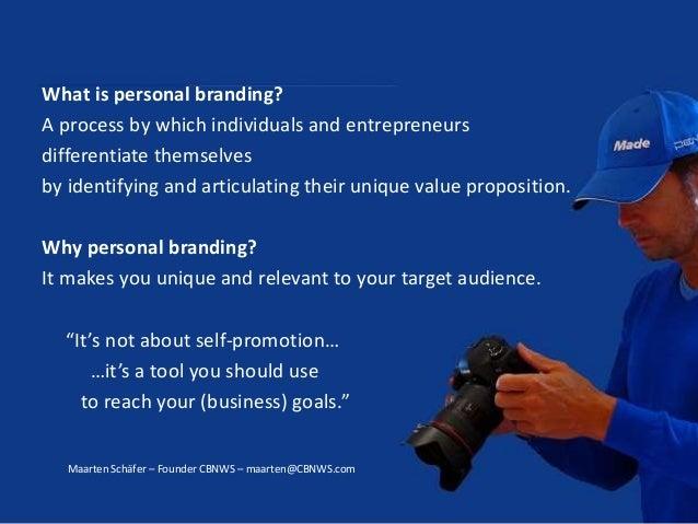 """Personal Branding through Storytelling"" by Maarten Schäfer Slide 3"