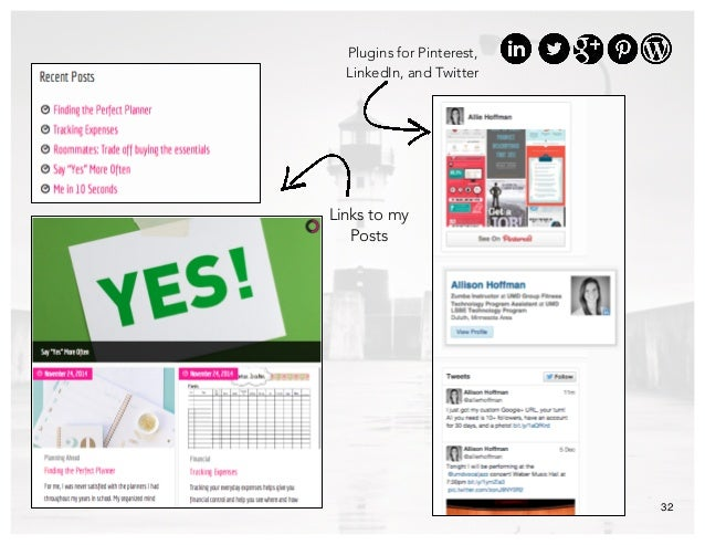 32 Plugins for Pinterest, LinkedIn, and Twitter Links to my Posts