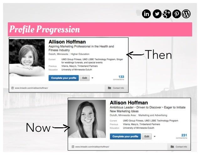 37 Profile Progression Then Now