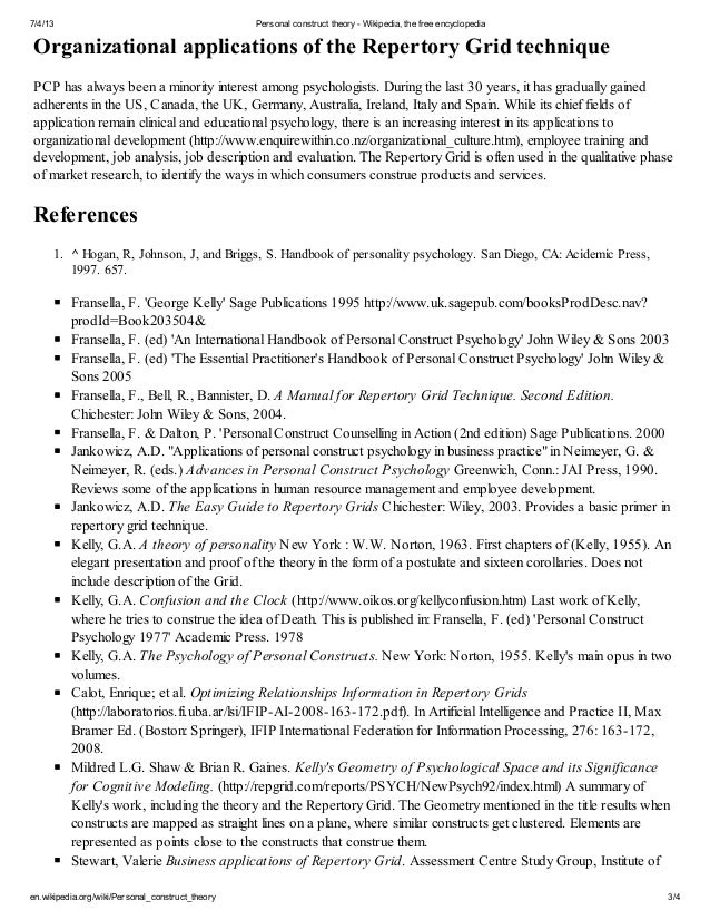 Curriculum thesis
