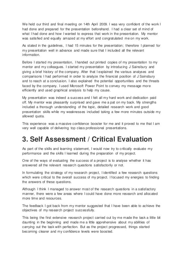 personal development essay 2