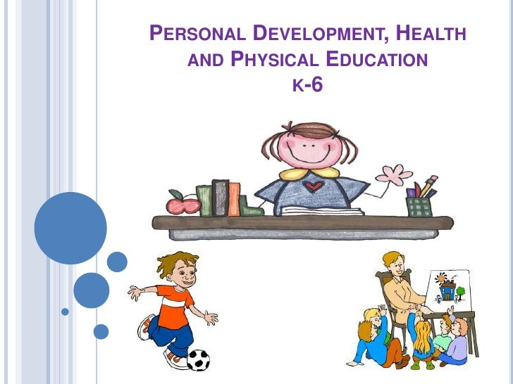 Personal development health and physical education