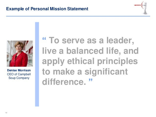 Personal Leadership Vision Statement Examples Romeondinez