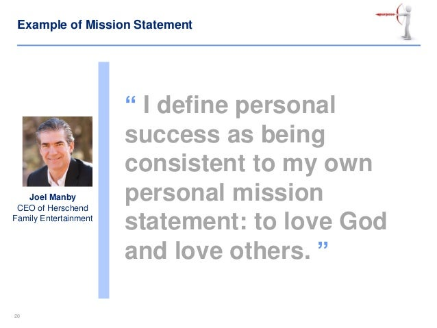 personal mission statement definition Mission statement vs vision statement an important aspect of corporate governance and providing clear messaging to stakeholders is the creation of a mission statement and a vision statement these are two distinct concepts and this article will provide an understanding of the differences .