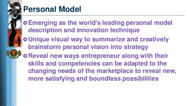 Personal Entrepreneurial Development - Personal Vision Lecture