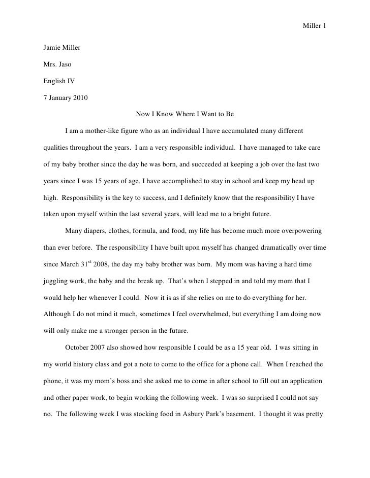 sample essay thesis personal essays samples personal personal essay