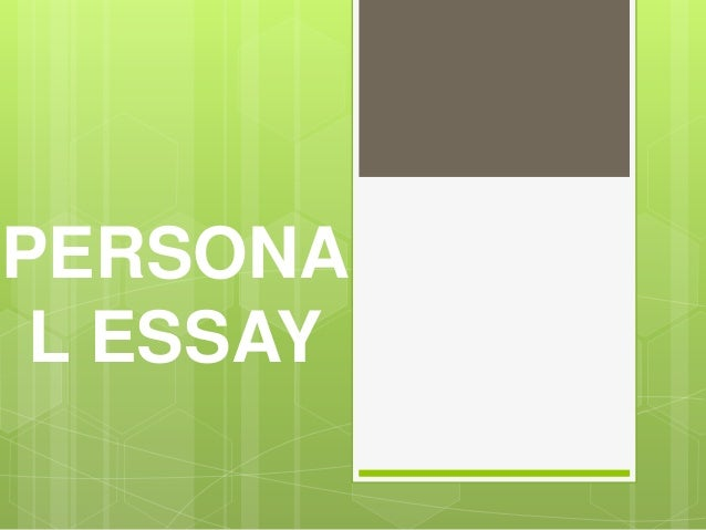 essay on persona Personal responsibility essay personal responsibility personal responsibility is understand and accepting the significance of values that people place on behavior while attempting to live.