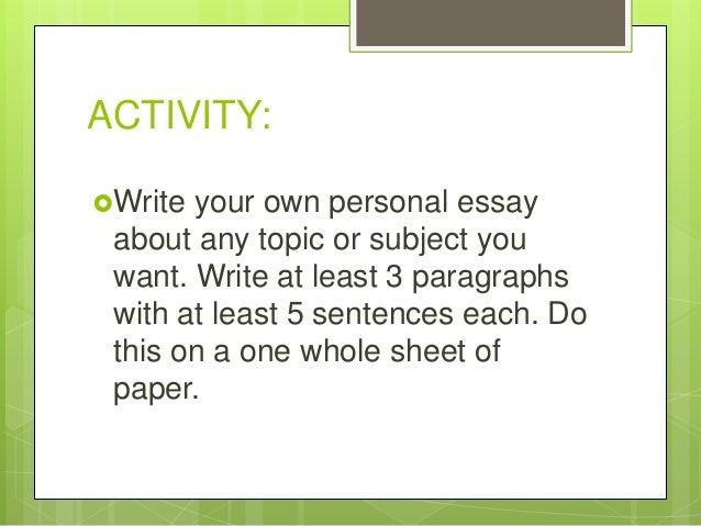 Elaine risley personal essay Term paper Academic Writing Service