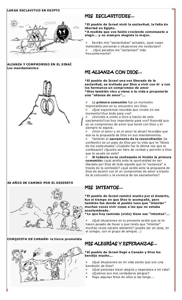 Fichas Historia de la Salvación