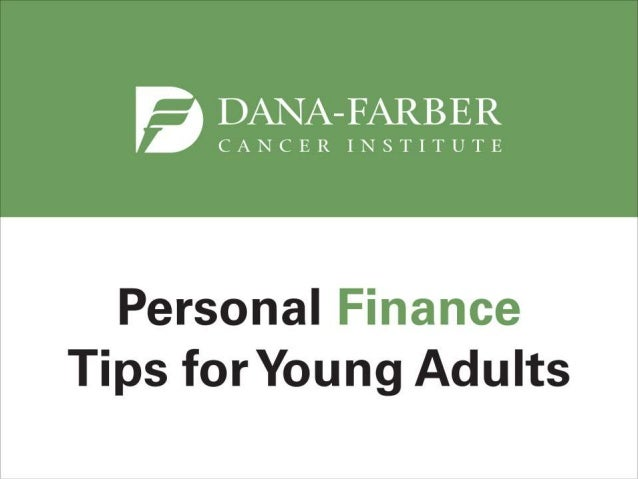 Personal Finance Tips for Young Adults with Cancer