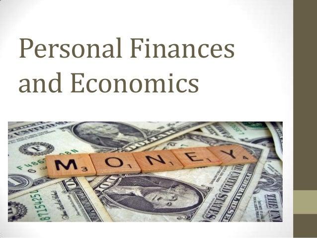 Personal Finances and Economics