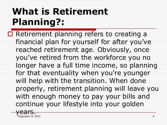 personal financial planning development