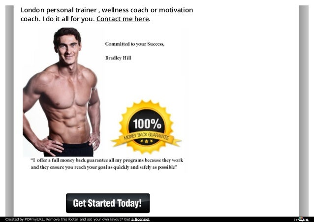 Personal Fitness Training In London Bradley Hill City