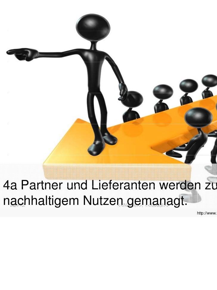 4a Partner und Lieferanten werden zunachhaltigem Nutzen gemanagt. Jan-12            <<Name>>, <<Modul>>                   ...
