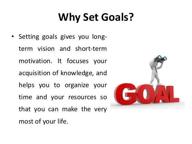 Personal goal setting - Manu Melwin Joy